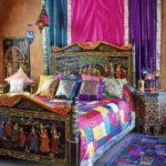 Интерьер спальни в индийском стиле фото