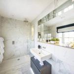 Ванная комната в стиле техно фото