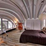Спальная комната в стиле футуризм