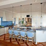 Дизайн интерьера кухни-столовой в средиземноморском стиле