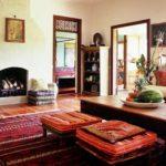 Гостиная комната в индийском стиле