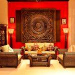 Гостиная комната в индийском стиле фото