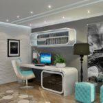 Детская комната в футуристическом стиле