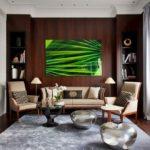 Интерьер стильной гостиной фото