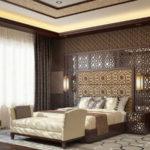 Дизайн спальной комнаты в арабском стиле фото