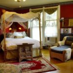 Интерьер спальни в колониальном стиле фото