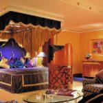 Интерьер современной спальни в арабском фото