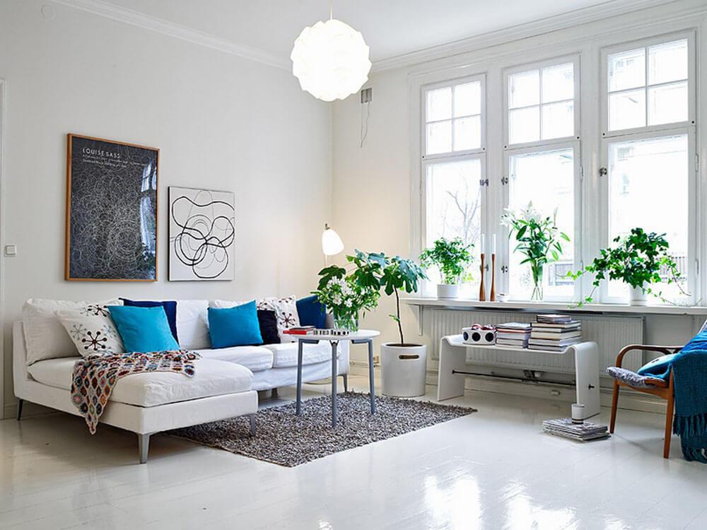 Скандинавский стиль в интерьере - цвета