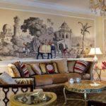 Колоничальный стиль в интерьере - мебель