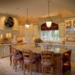Кухня в колониальном стиле фото