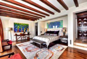 Интерьер спальни в стиле фьюжн фото