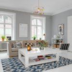 Дизайн гостиной комнаты в скандинавском стиле фото