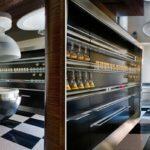 Интерьер кухни в стиле техно фото