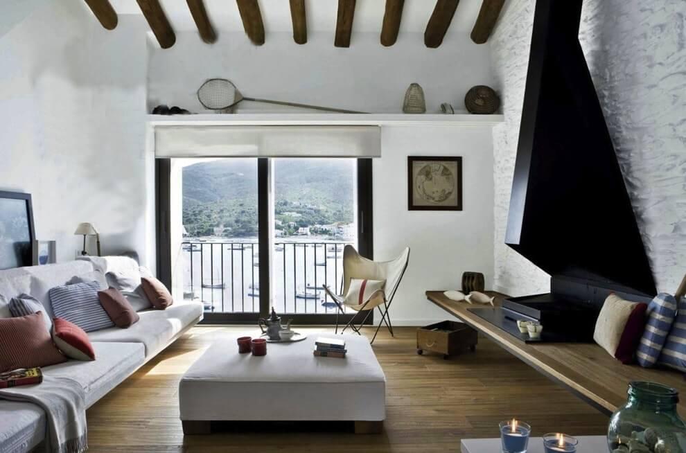 оформление стен в средиземноморском стиле