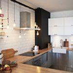 Скандинавский стиль в инерьере кухни