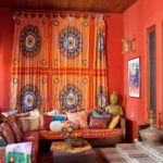 Дизайн гостиной комнаты в индийском стиле
