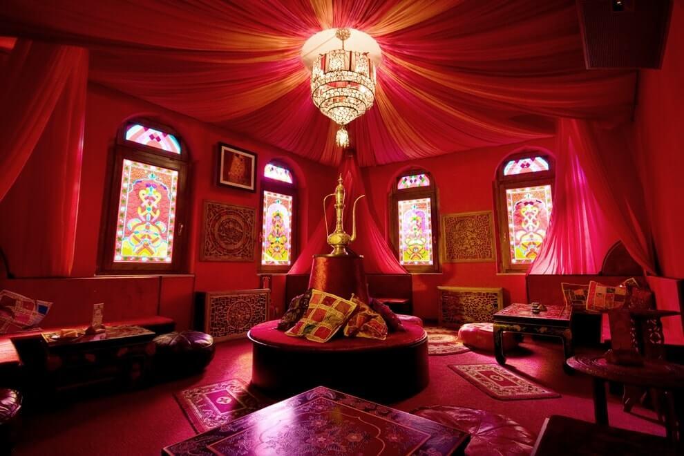 Цветовое оформление интерьера в индийском стиле