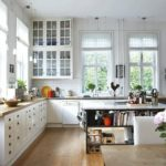 Скандинавский стиль в инерьере кухни фото