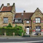 Красивый дом в голландском стиле