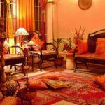 Дизайн гостиной комнаты в индийском стиле фото