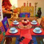 Столовая в индийском стиле
