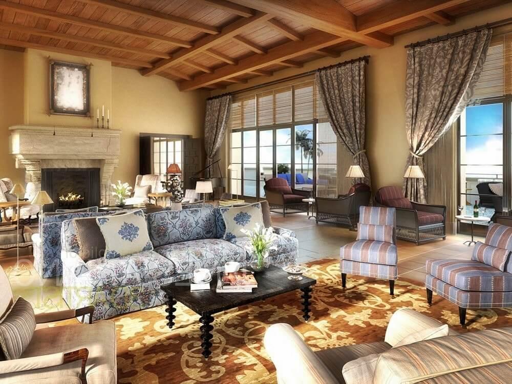 Средиземноморский стиль в интерьере - мебель