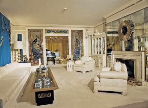 Дизайн гостиной в колониальном стиле