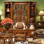 Библиотека в колониальном стиле