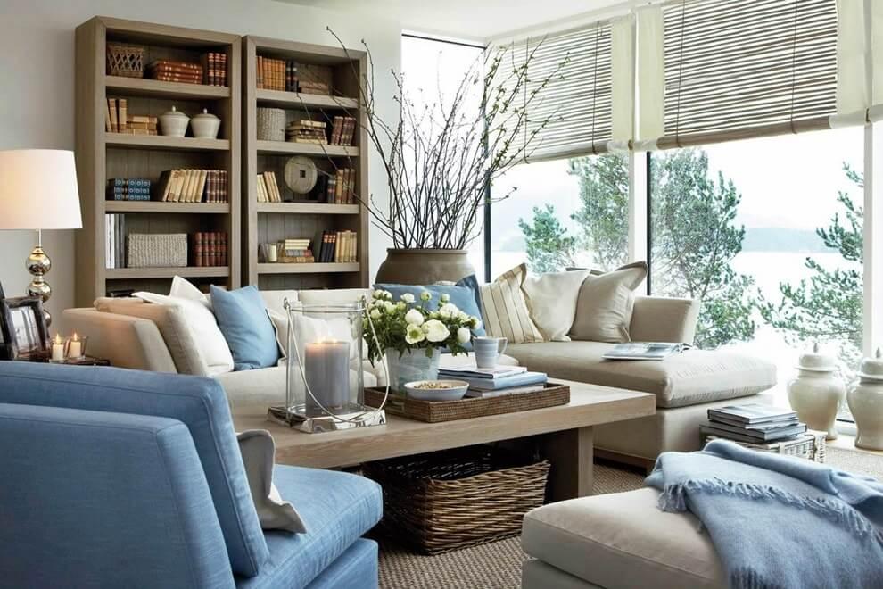 Мебель в скандинавском стиле интерьера