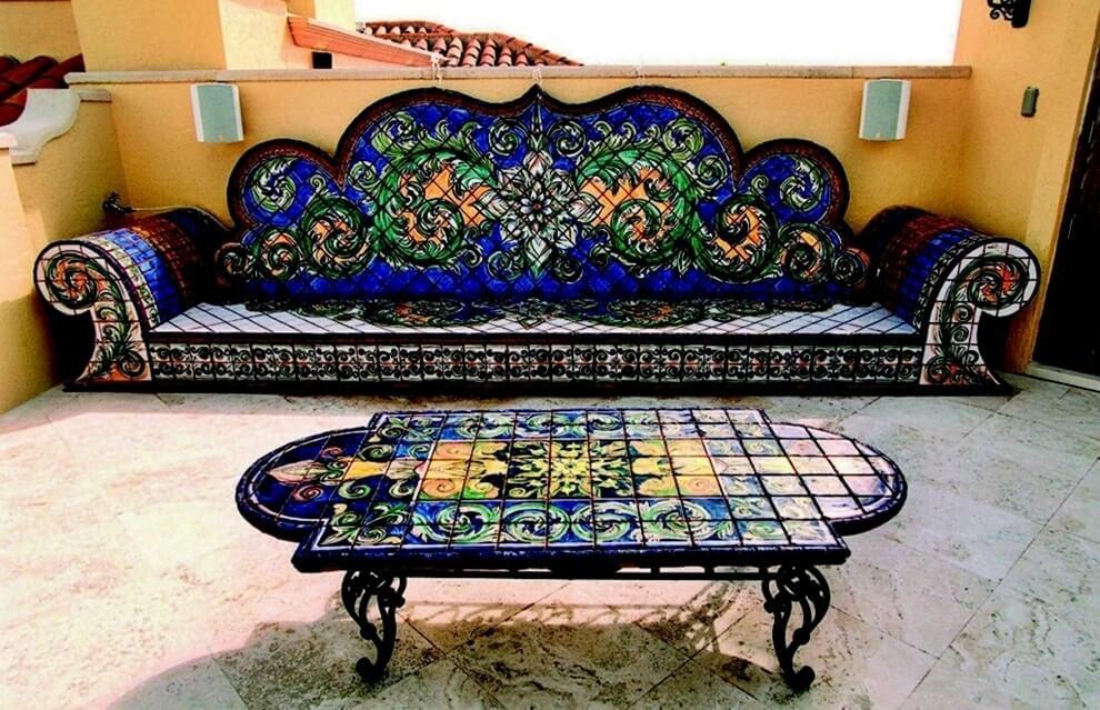 Индийский стиль в интерьере - мебель