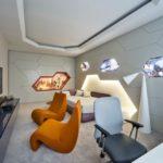 Стиль футуризм в интерьере - мебель