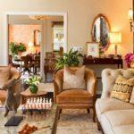 Мебельное оснащение колониального интерьера