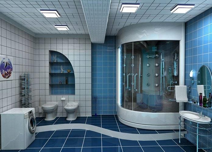 Туалет и ванная
