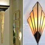 Стили светильников: арт-деко