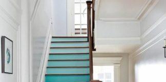 Лестница с эффектом омбре