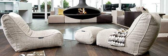 Мягкая мебель в стиле лаунж