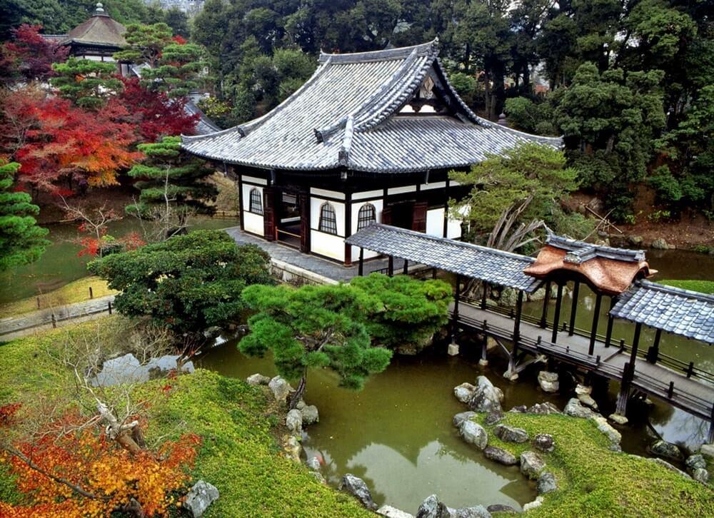 Японские домики картинки