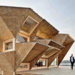 Частный дом в стиле деконструктивизм