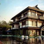 Проект дома в японском стиле