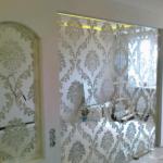 Зеркальные панели с узором