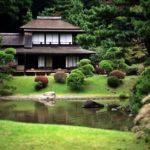 Уютный загородный дом в японском стиле фото