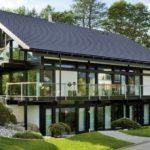 Шикарный загородный дом в стиле фахверк