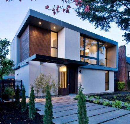 Дома в стиле минимализм - фото