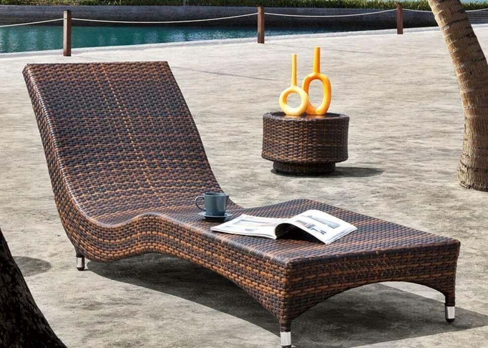 Плетеная мебель в интерьере 21