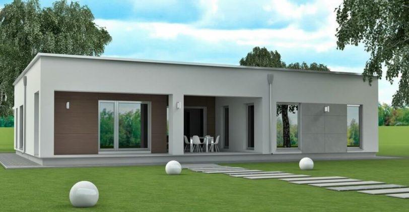 Проект дома в минималистическом стиле