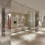Зеркала в интерьере, применение, фото