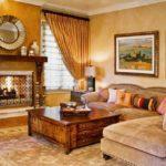 Итальянский стиль в интерьере гостиной комнаты