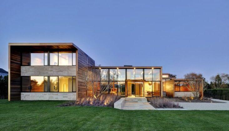 Шикарная резиденция в стиле минимализм