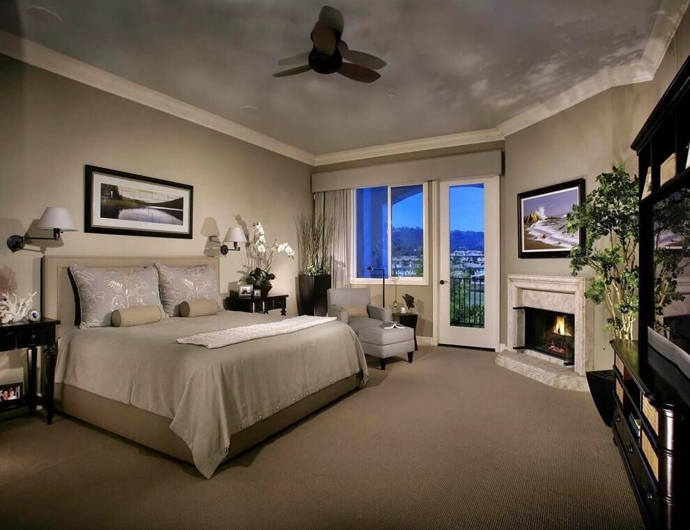 Стиль лаунж в интерьере спальни