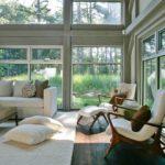 Интерьер гостиной в стиле лаунж